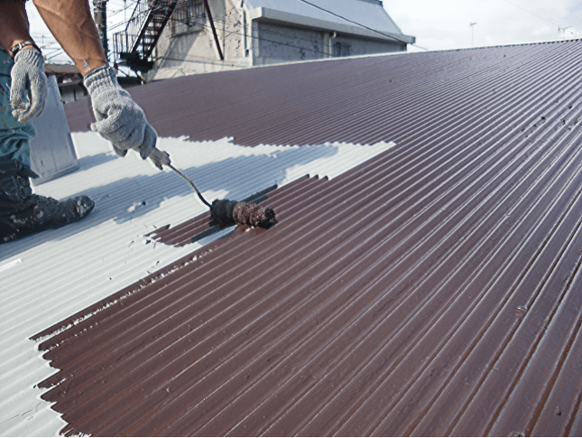 トタン屋根、外壁塗装