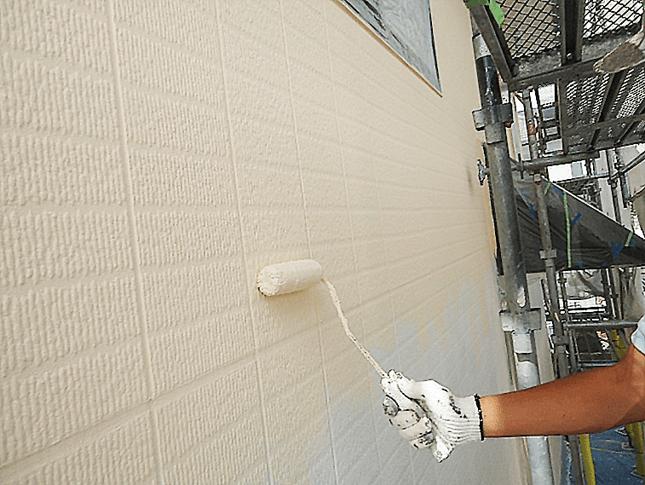 東京都豊島区にてガイナで外壁塗装