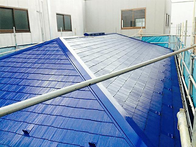 水性セラタイトF、ヤネフレッシュFでの外壁屋根塗装