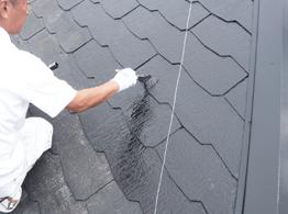 ヤネフレッシュは超耐久性を備えている塗料でシリコンの中では非常に耐久性が高く長持ちする屋根塗料です。