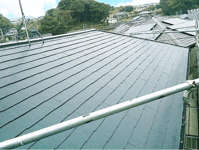 埼玉県川口市にてクールタイトFで屋根塗装