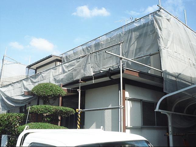 埼玉県さいたま市にてクールテクトで外壁塗装