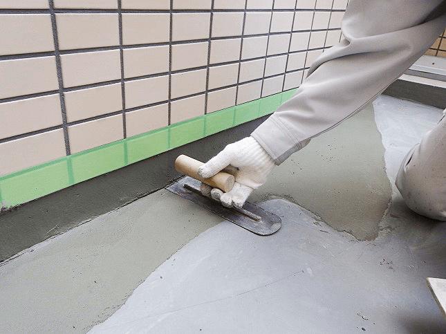 東京都板橋区にて陸屋根部分の防水工事
