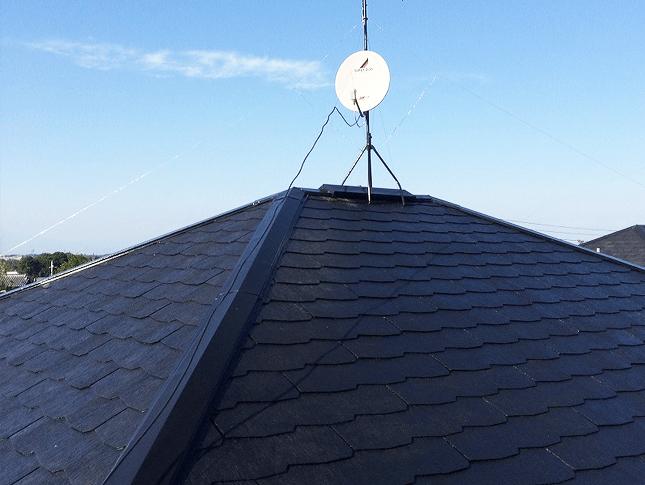 スレート屋根の屋根補修と屋根塗装