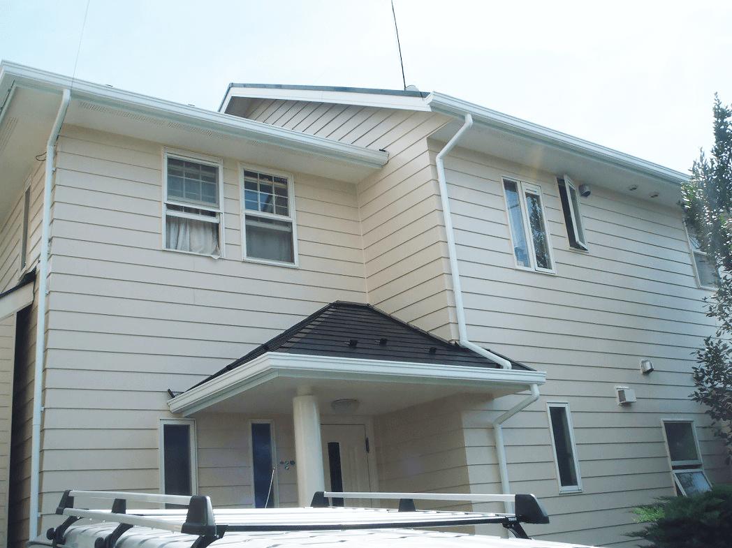 水性セラタイトSiとヤネフレッシュSiで外壁屋根塗装