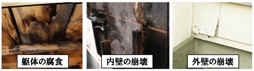 外壁塗装のトラブル一覧